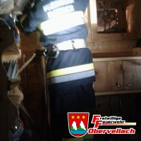 Hüttenbrand Innerfragant