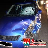 Verkehrsunfall Gappen