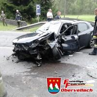 Schwerer Verkehrsunfall am Klausenkofel