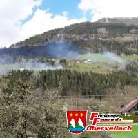 Bahnböschungsbrand Kolbnitz