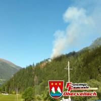 Waldbrand Außerfragant
