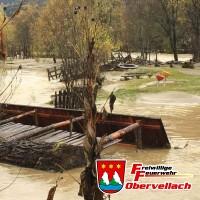 Hochwasser und Sturm 30.10.2018