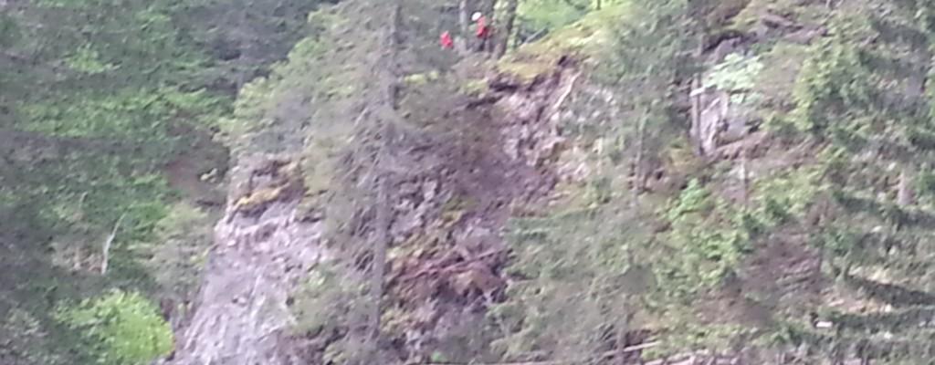 Felsräumung Groppensteinschlucht