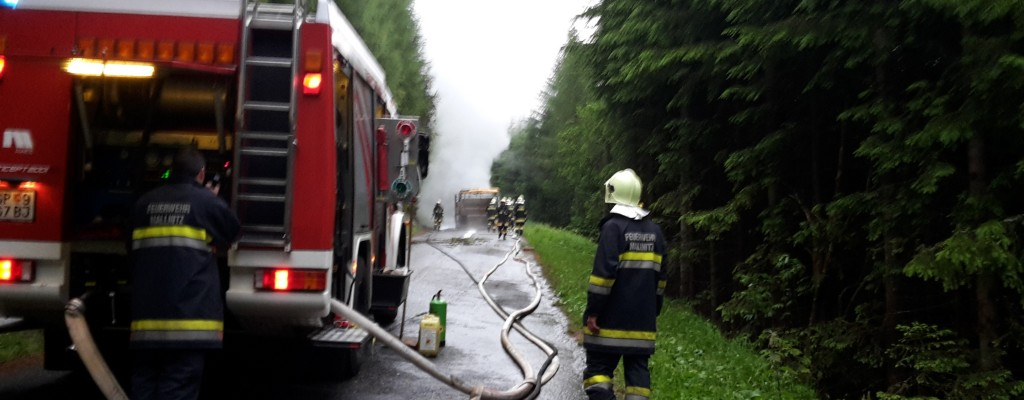 Traktorbrand Tauerntal