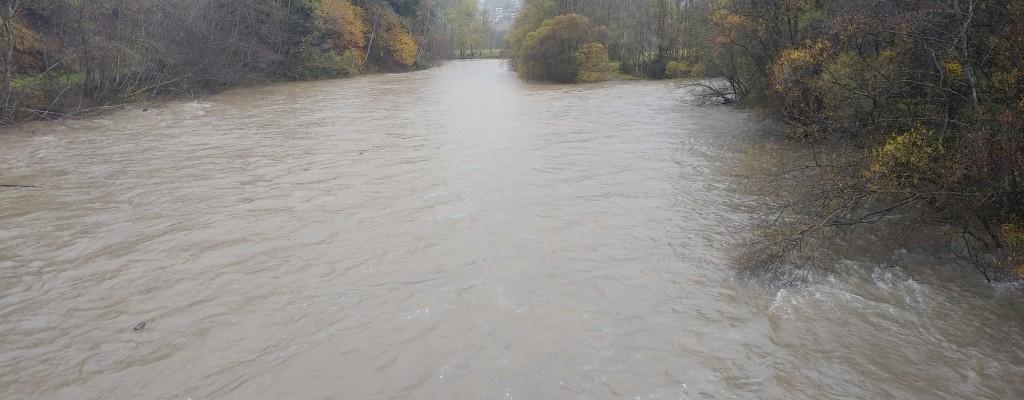 Hochwasser und Sturm 28.10.2018