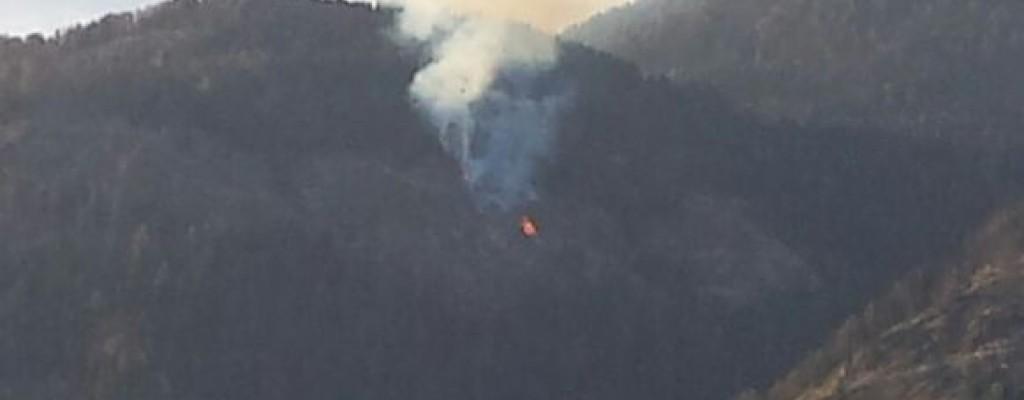 Waldbrand am Plankogel - Göriacher Alm